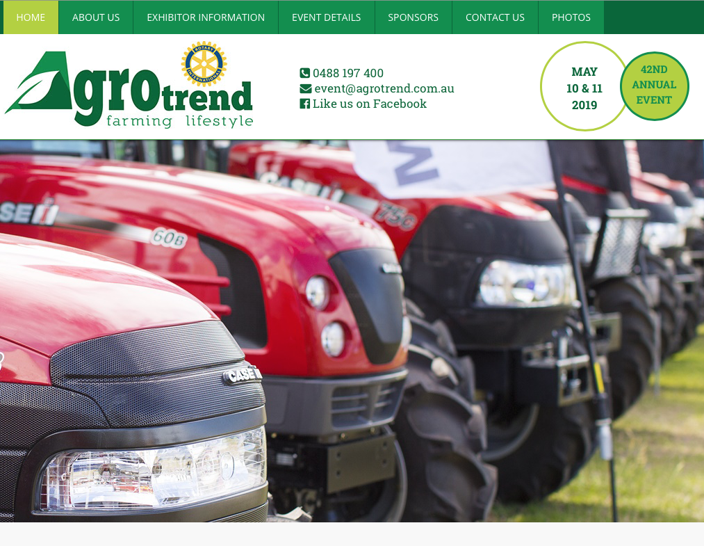 Visit the Soil Wealth ICP team at Agrotrend, QLD