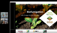 Biofumigation cover crops in vegetable production with Julie Finnigan (webinar recording)