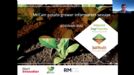 Biological products and new phosphorus fertiliser technology for potato productivity