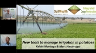 New tools to manage irrigation in potatoes