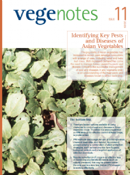 Identifying Key Pests and Diseases of Asian Vegetables