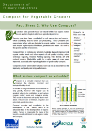 Compost for Vegetable Growers: Why Use Compost?