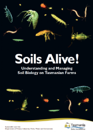 Soils Alive! Understanding and Managing Soil Biology on Tasmanian Farms