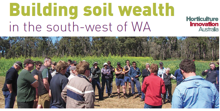 Building soil wealth in the south-west of WA