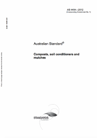 Australian Standard for composts, soil conditioners and mulches