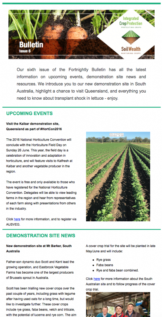 Fortnightly Bulletin Issue 6