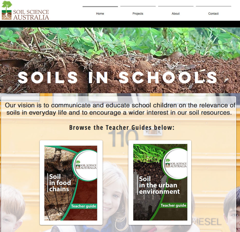 Soils in Schools initiative by Soil Science Australia