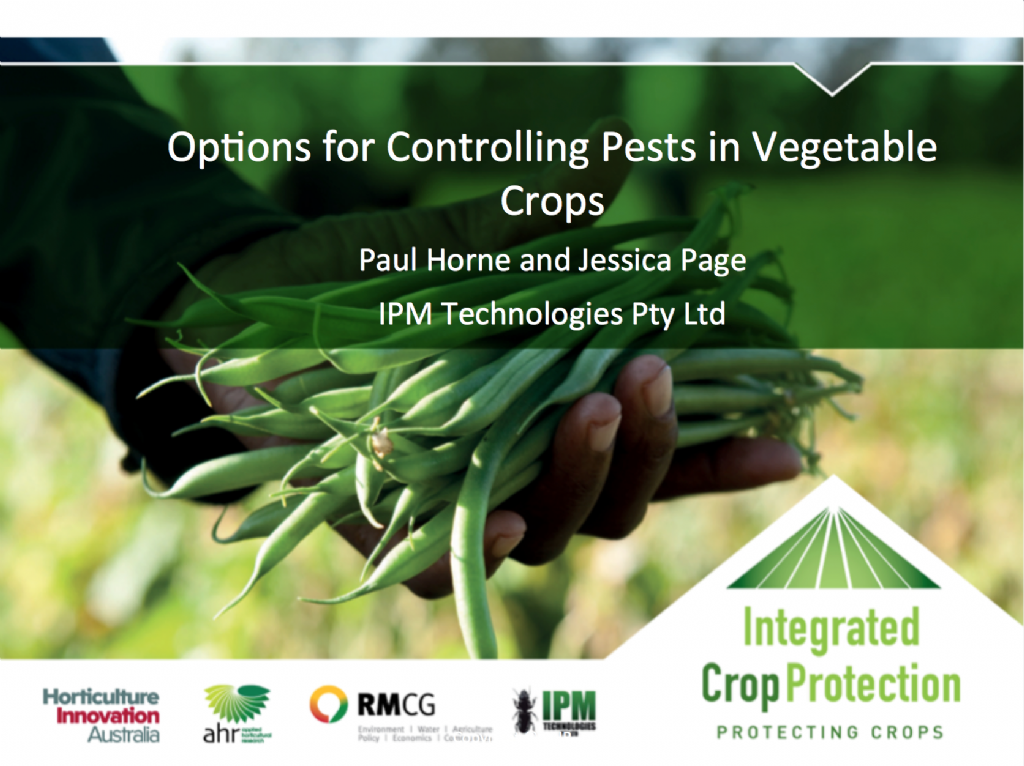 Pest management - what are the options? with Dr Paul Horne (webinar recording)