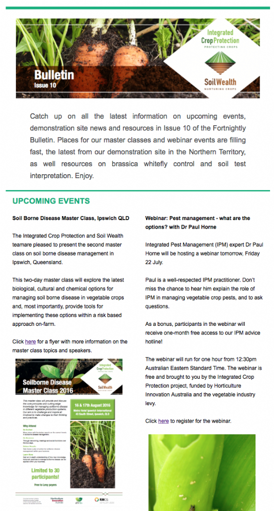 Fortnightly Bulletin Issue 10