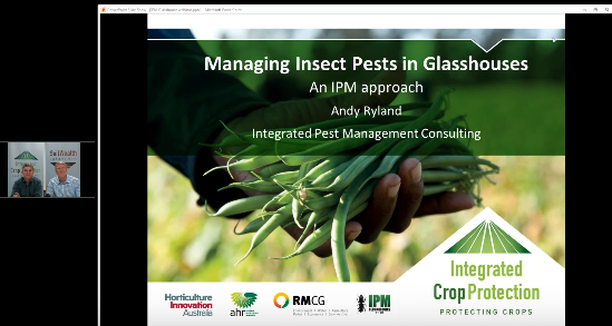 Managing insect pests in greenhouses with Andy Ryland (webinar recording)