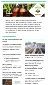 Fortnightly Bulletin Issue 15