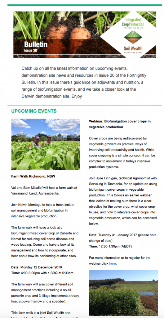 Fortnightly Bulletin Issue 20