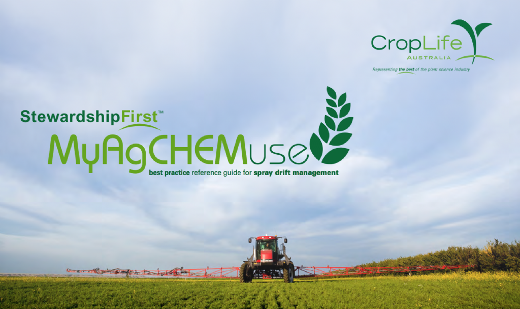 MyAgCHEMuse: Best practice reference guide for spray drift management