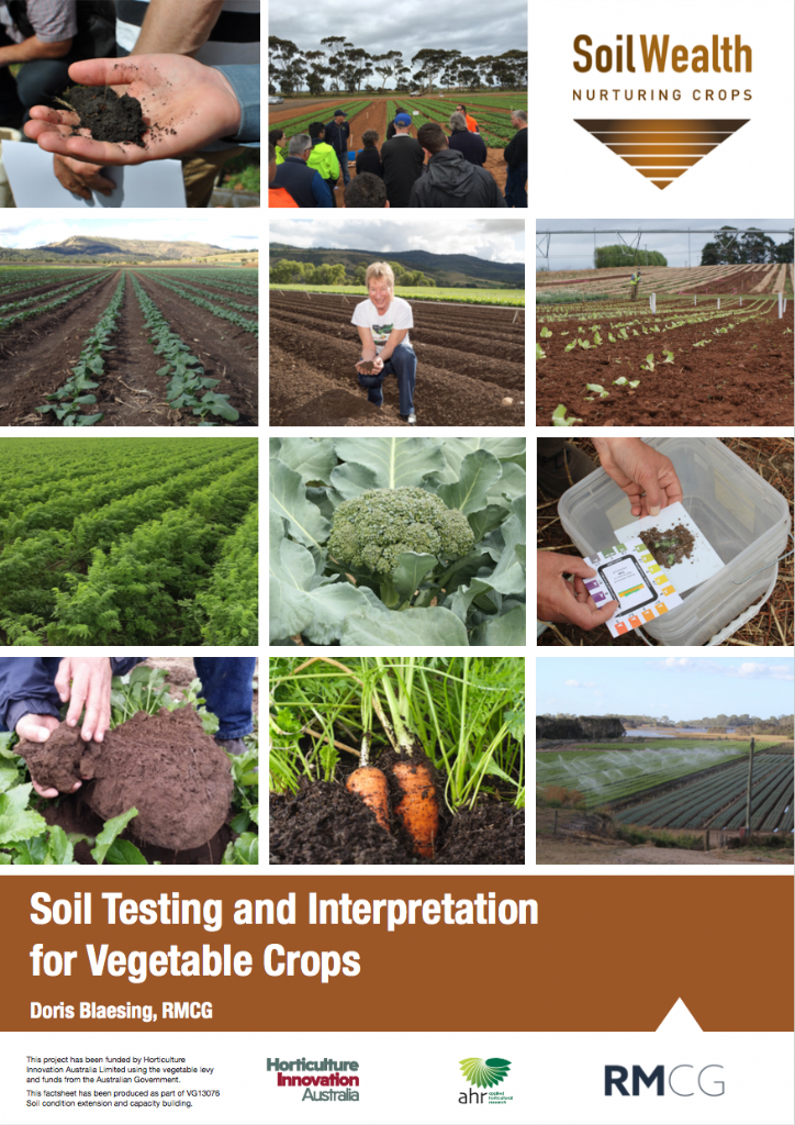 Soil Testing and Interpretation for Vegetable Crops: A guide