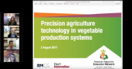 Precision agriculture technology in vegetable production systems