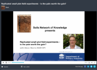 Replicated small plot field experiments - is the pain worth the gain? (webinar recording)