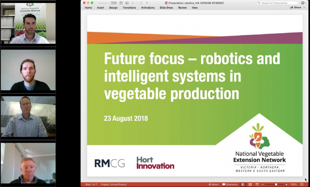 Future focus – robotics and intelligent systems in Australian vegetable production systems (webinar recording)