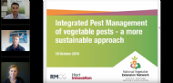 Integrated Pest Management of vegetable pests - a more sustainable approach