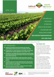 Exploring the application of precision agriculture: Koo Wee Rup demonstration site case study