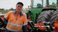 Strip-tillage in the field - Jeff McSpedden, NSW case study