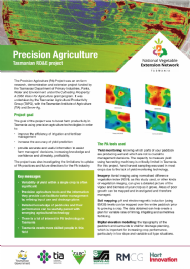 Precision Agriculture Tasmanian RD&E project