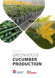 Greenhouse Cucumber Production Manual; 2019 Edition