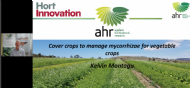 Using cover crops to manage mycorrhizal fungi in vegetable crops